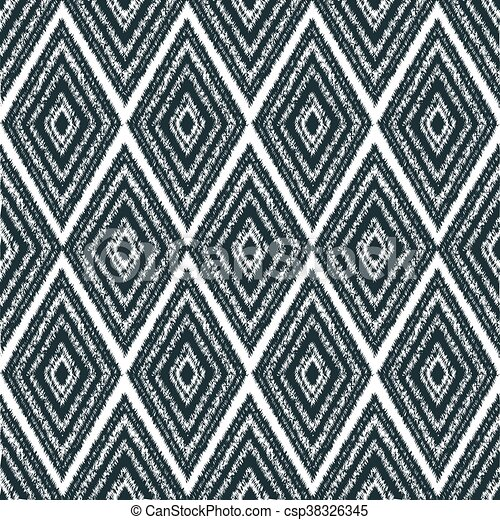seamless pattern tribal navajo - csp38326345