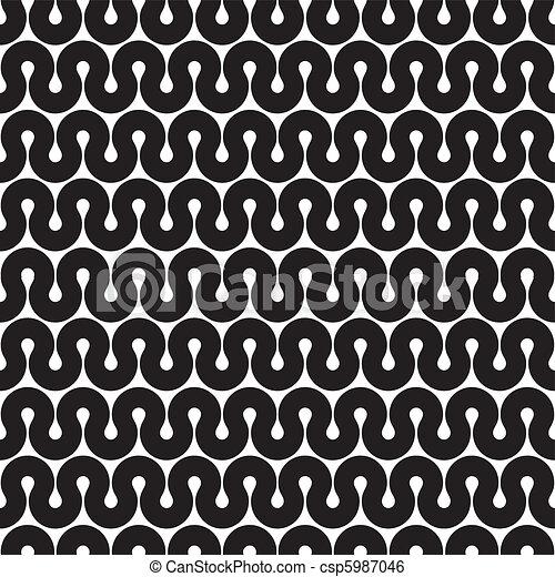 seamless pattern (vector) - csp5987046