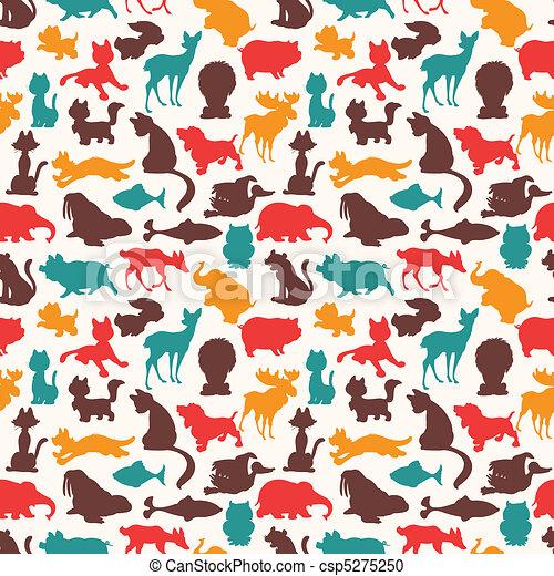 seamless pattern  - csp5275250