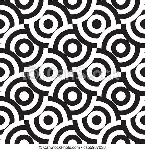 seamless pattern (vector) - csp5987038
