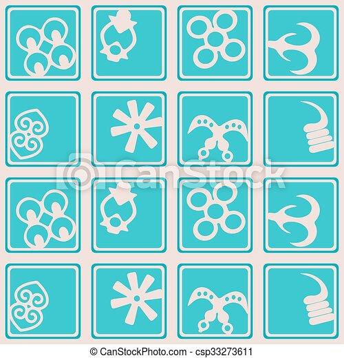 seamless pattern with adinkra seamless pattern with adinkra