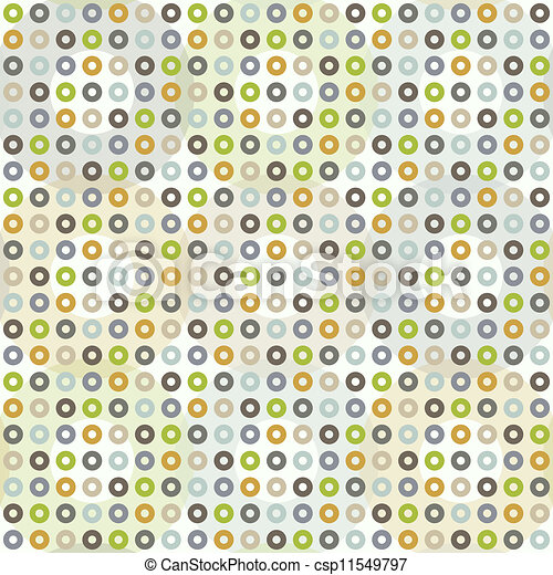 Seamless pattern with circles - csp11549797