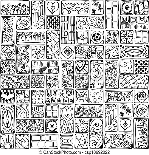 zentangle clip art vector graphics 17917 zentangle eps clipart vector and stock illustrations available to search from thousands of royalty free - Zentangle Muster