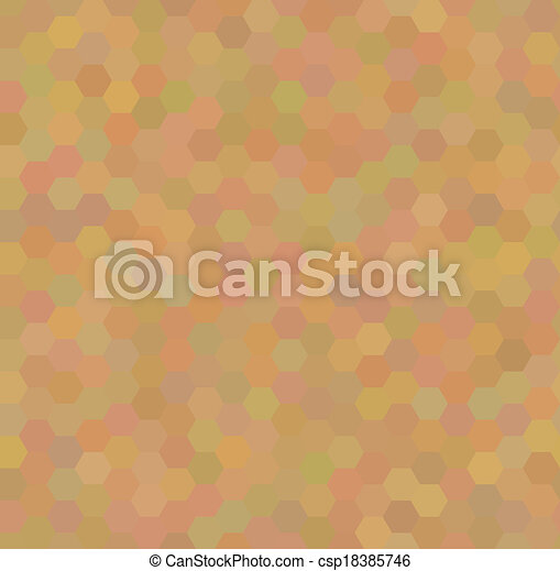 Seamless pattern with honeycombs - csp18385746