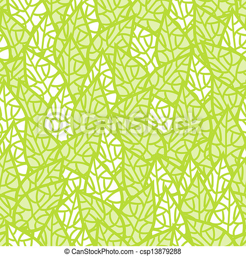 Seamless pattern with leaves. - csp13879288