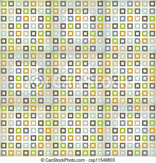 Seamless pattern with squares - csp11549803