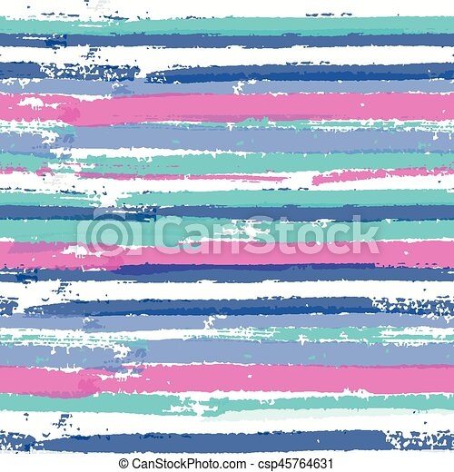 6dbd200e Seamless pattern with vibrant colors paint stripes - csp45764631