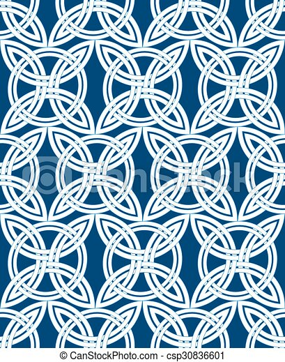 seamless patterns in arabian style geometric textures vector