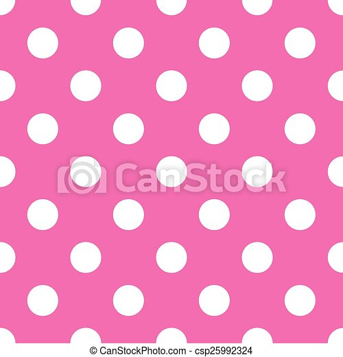 seamless pink polka dot background vector illustration search rh canstockphoto com polka dot background clipart free