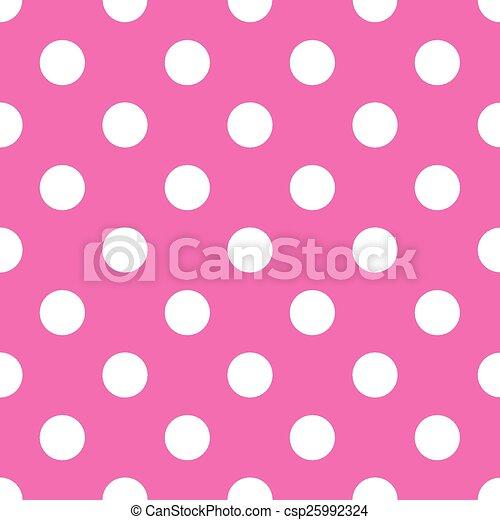 seamless pink polka dot background vector illustration search rh canstockphoto com pink polka dot background clipart