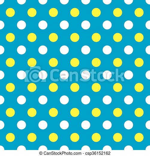 seamless polka dot pattern background in blue yellow and clip rh canstockphoto ie polka dot background clipart red polka dot background clipart
