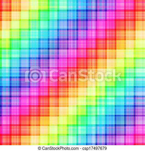 seamless rainbow colors background - csp17497679