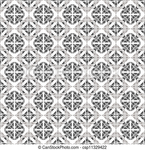 Seamless royal vector wallpaper - csp11329422