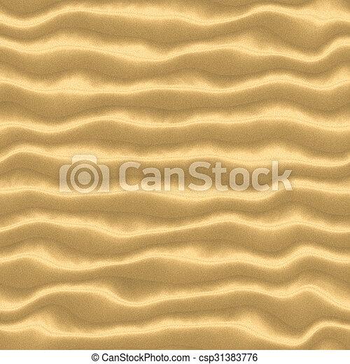 Seamless sand background. - csp31383776
