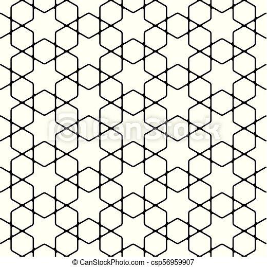 Seamless Simple Geometric Pattern