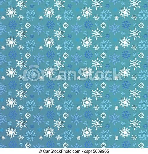 Seamless snowflakes - csp15009965