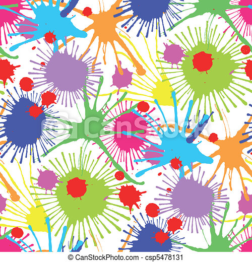 Seamless stain pattern III - csp5478131