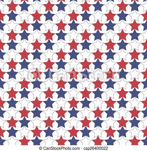 seamless star pattern in official colors of usa flag great pattern