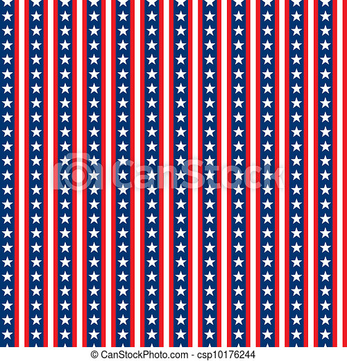 ebbea9db862 Seamless stars & stripes. White stars tile seamlessly on red, white ...