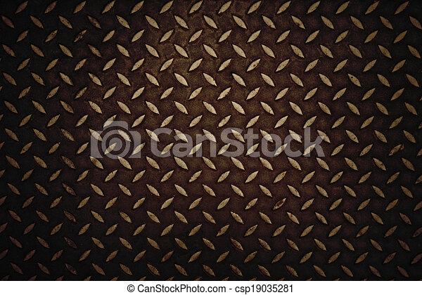 Seamless steel diamond plate - csp19035281