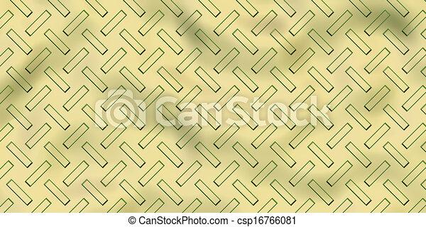 Seamless steel diamond plate texture - csp16766081