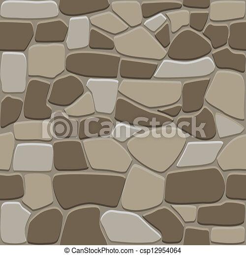 Seamless stone background - csp12954064