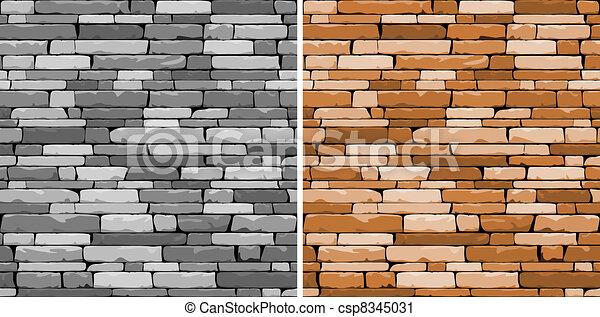 Seamless stone background - csp8345031