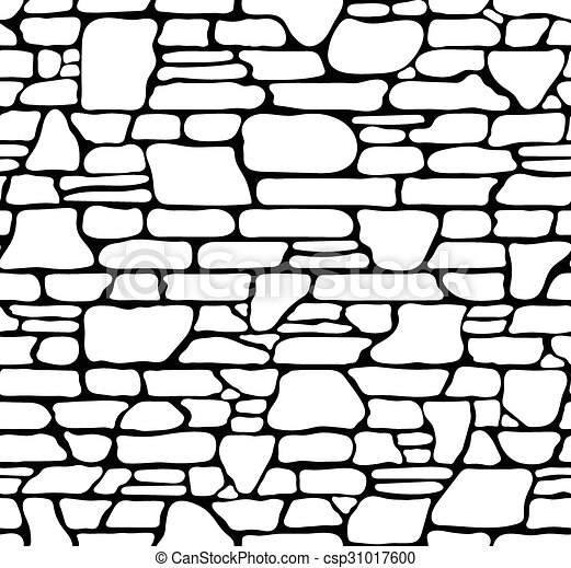 seamless stone texture seamless grunge stone brick wall vector rh canstockphoto com broken brick wall clipart brick wall clipart image picture free
