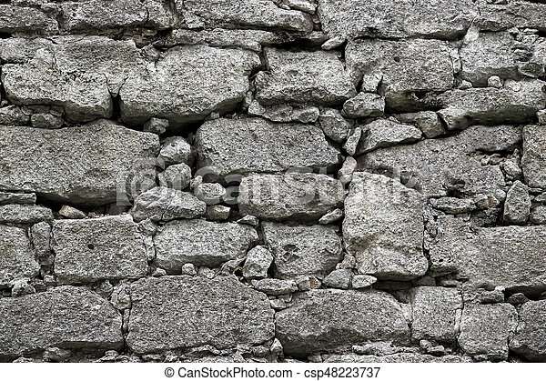 . Seamless stone wall texture background