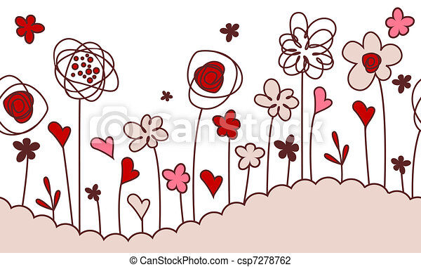 Fleur Stylisee Dessin Gobelune
