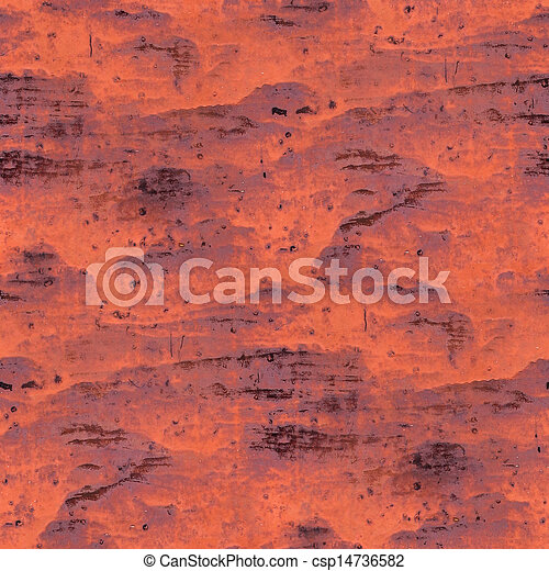 Seamless Texture Red Background Metal Rust Rusty Old Paint Grunge Iron Abstract