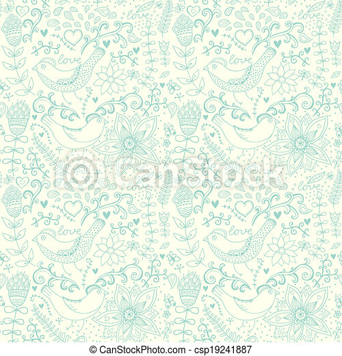 Seamless Texture With Flowers And Butterflies Endless Floral Patternseamless Pattern Can Be Used For Wallpaper Fills Web Page Background