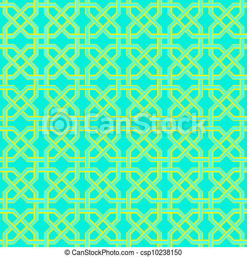 Seamless turkish pattern - csp10238150