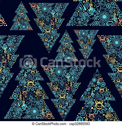 Seamless vector background. - csp32885593