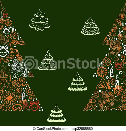 Seamless vector background. - csp32885580