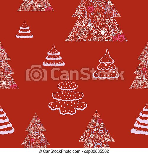 Seamless vector background. - csp32885582