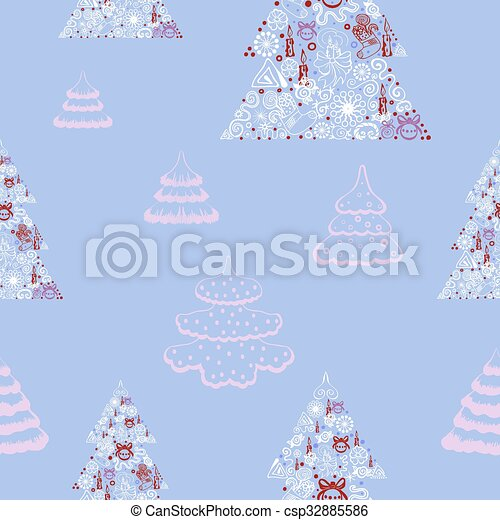 Seamless vector background. - csp32885586