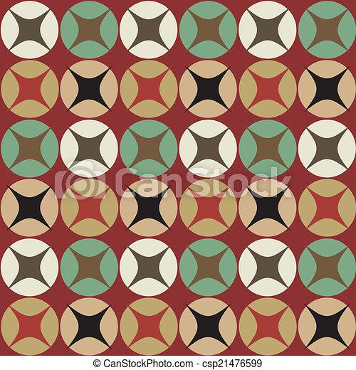 Seamless vector geometric ,Pattern background - csp21476599