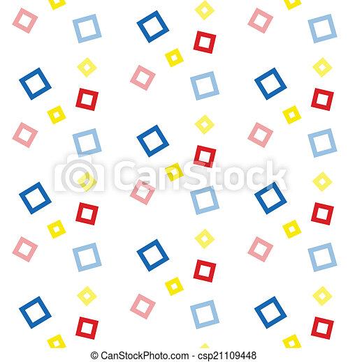 Seamless vector geometric ,Pattern background - csp21109448