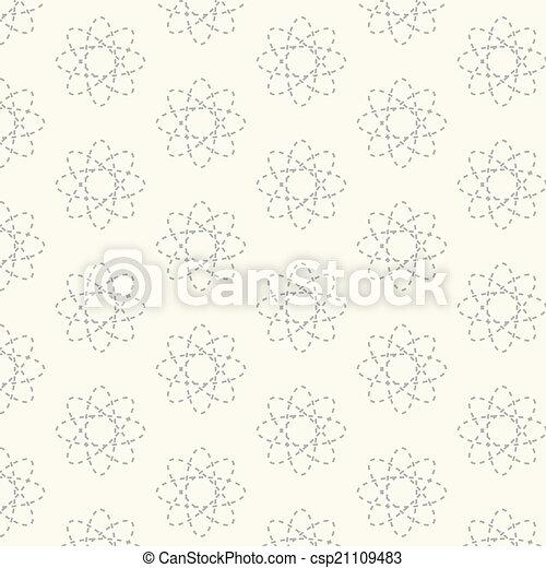 Seamless vector geometric ,Pattern background - csp21109483