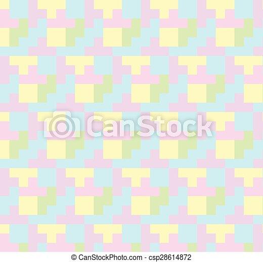 Seamless vector geometric ,Pattern background - csp28614872