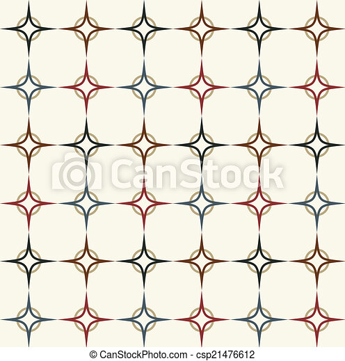 Seamless vector geometric ,Pattern background - csp21476612