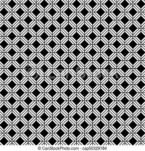 Seamless Vector Interwoven Trellis Pattern