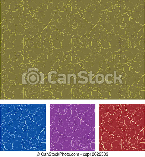 Seamless vector pattern - csp12622503