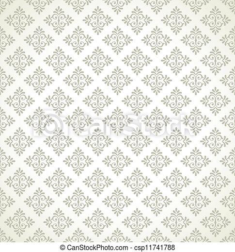 Seamless vector wallpaper - csp11741788