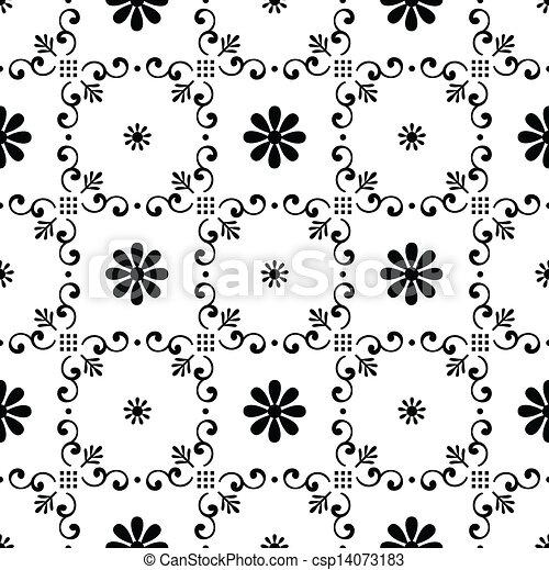 Seamless vector wallpaper - csp14073183