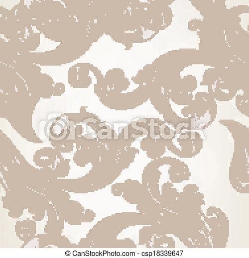 Seamless vector wallpaper  - csp18339647
