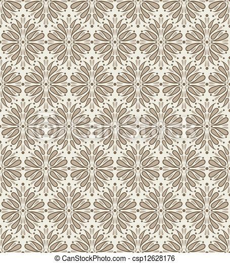 Seamless vector wallpaper - csp12628176