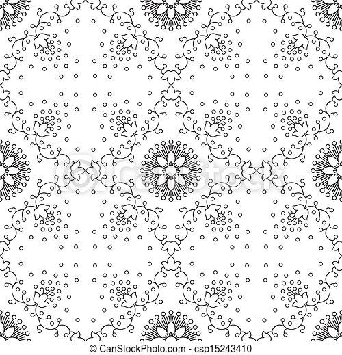 Seamless vector wallpaper - csp15243410