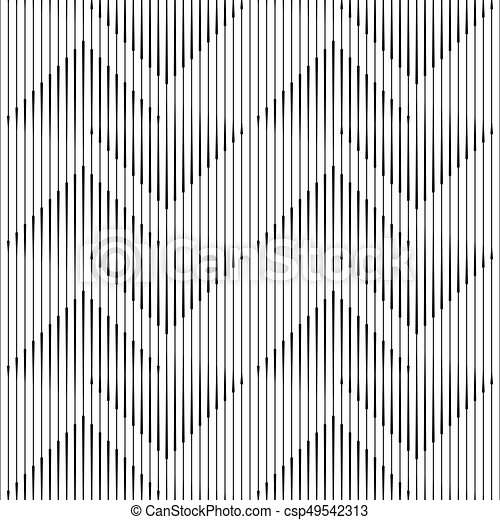 Seamless Vertical Line Pattern Vector Monochrome Background Adorable Line Pattern Vector